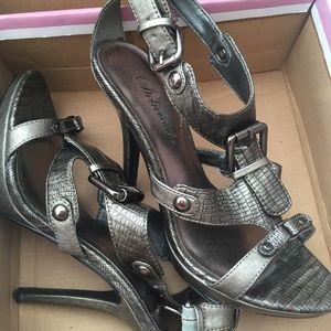 Shoes - Gunmetal Heels